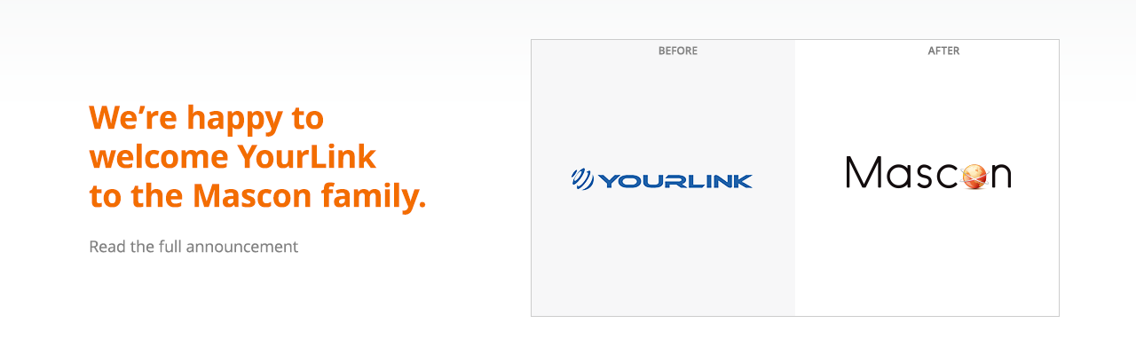 We're happy to welcome YourLink to the Mascon Family