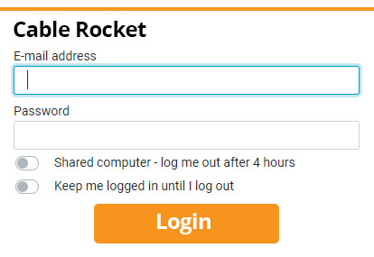 Cable Rocket Webmail login