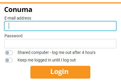 Conuma Webmail login