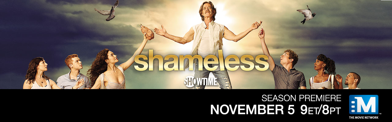 Shameless Season Premieres November 5th on The Movie Network