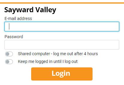 Sayward Valley Webmail login