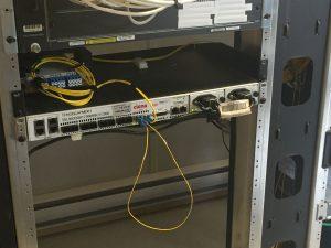 fiber-connected