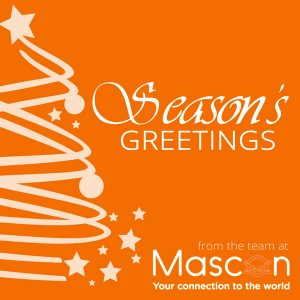 Seasons Greetings from the team at Mascon